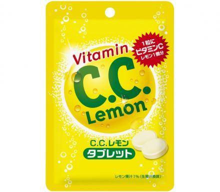C.C. Lemon มีแบบอัดเม็ดที่ญี่ปุ่นแล้วจ้า