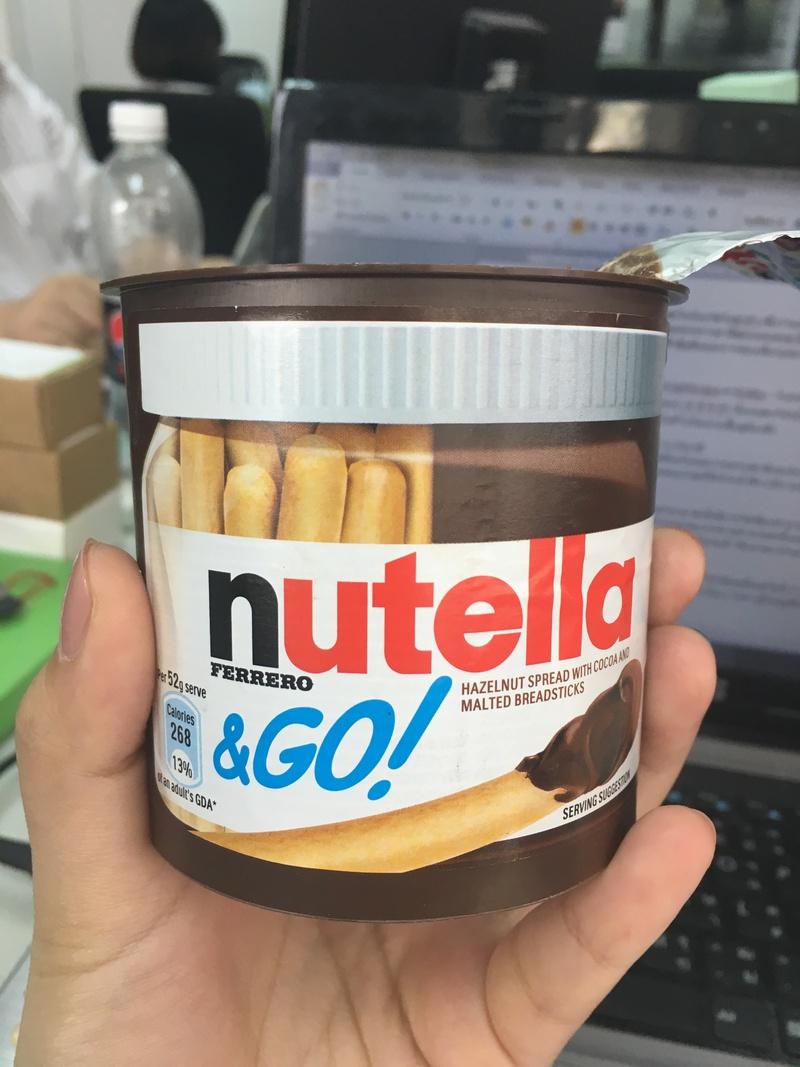 บิสกิตจิ้มๆ กับ Nutella Go! Go!